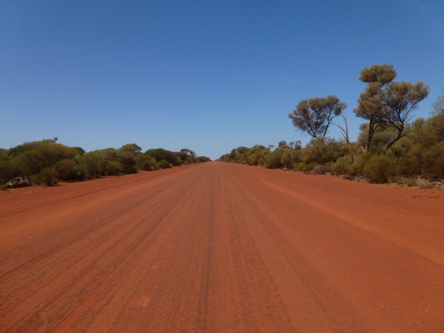 Iconic outback road
